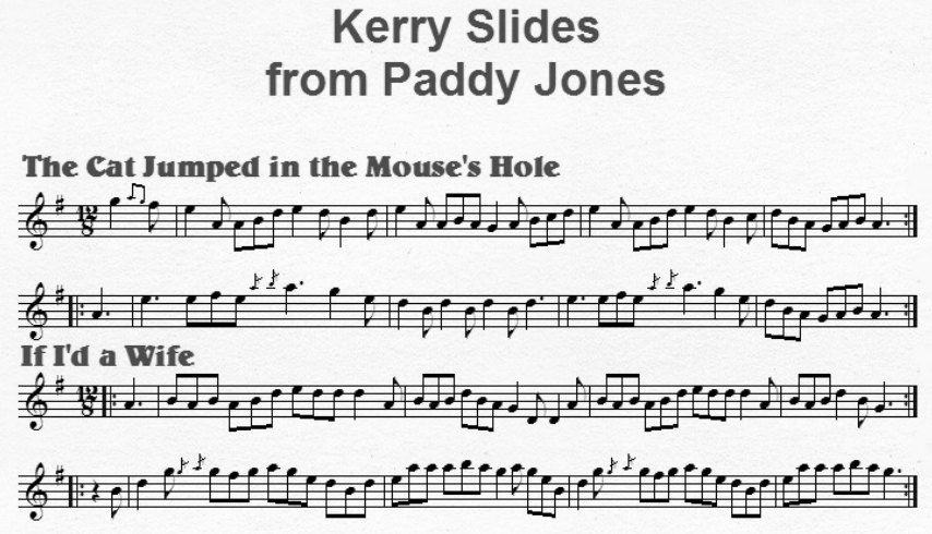 Notation of Kerry Slides