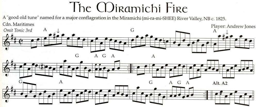 The Mirimichi Fire