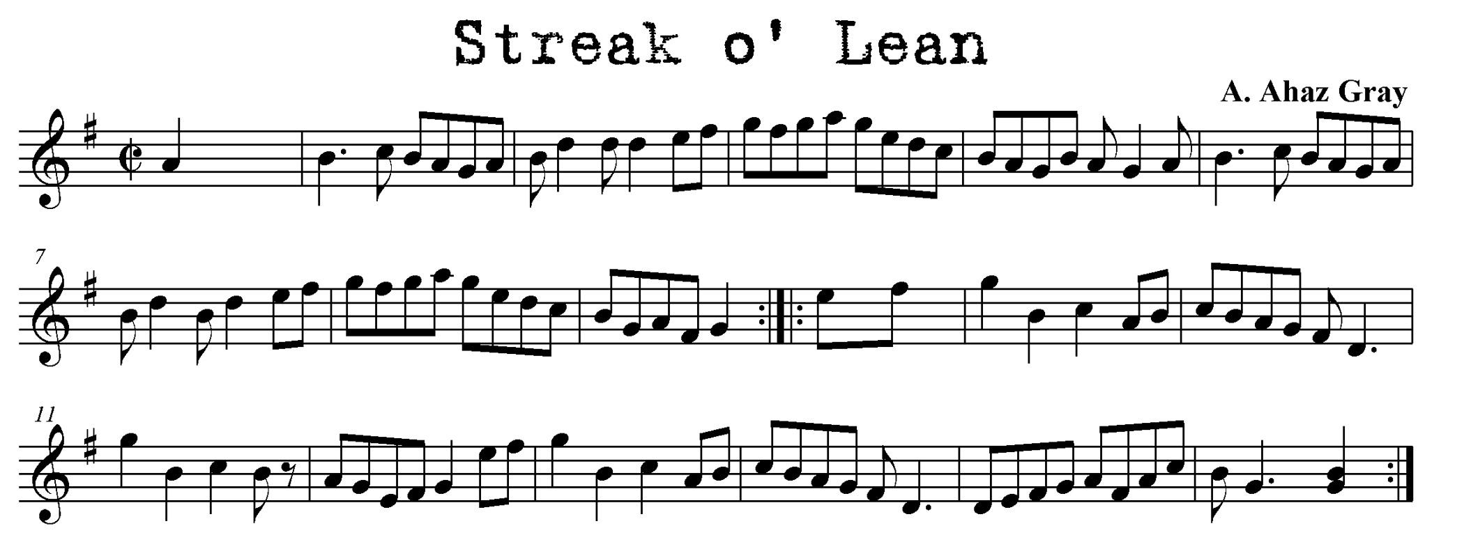 Streak o Lean