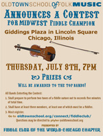 Midwest Fiddle Championship flyer